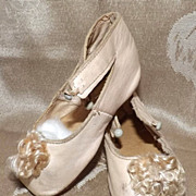 SALE Lovely Keystone Doll Shoes Original Pom Poms