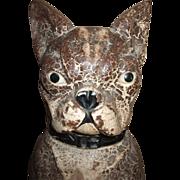 SOLD Fabulous Boston Terrier Or French Bulldog Cast Iron Doorstop