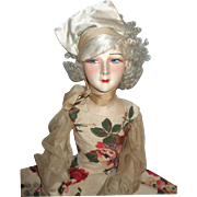 SOLD Fabulous & SO Art Deco French Tagged Gerb's Boudoir Doll