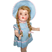 "17"" Horsman Bright Star All Original Doll And Box"