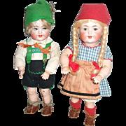 SALE PENDING All Original Simon & Halbig For Adolph Hulss Twin Dolls Bargain