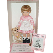 Haut Melton Edith The Lonely Doll With Steiff Bear Limited Edition
