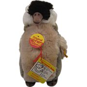 Steiff's Young Plush Penguin With All IDs