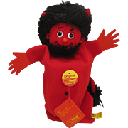 Steiff's Marvelous Red Devil Puppet With All IDs and More