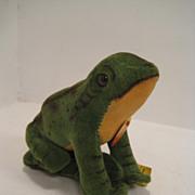 Steiff's Smallest Velvet Froggy Frog With All IDs