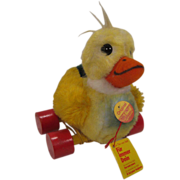 Steiff's Totally Adorable Pull Duck With All IDs