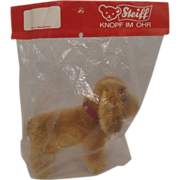 Steiff's Smallest Cockie Cocker Spaniel With All IDs In Original Packaging