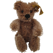Steiff's Smallest and Earliest Post War Five Ways Jointed Original Teddy Bear With IDs