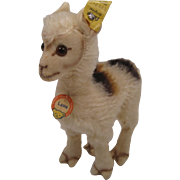 Steiff's Smallest Llama With All IDs