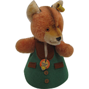 Steiff's Adorable Fox Nightcap Animal Doll With All IDs