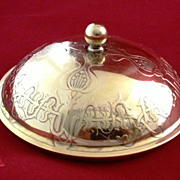 Small French silver dome