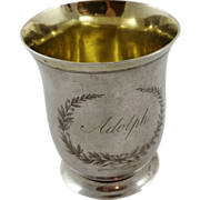 Really old German solid silver cup