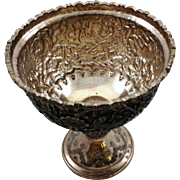 Beautiful 900 silver cup, probably Persian or Turkish