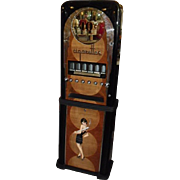 Mid 1930's Rowe Professionally Re-stored Ten Cent Cigarette Vending Machine ~ Art Deco ...
