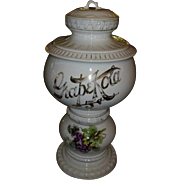Early 1900's Grape Kola 5 Cent Soda Fountain Syrup Dispenser