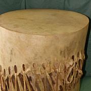 REDUCED Antique Menominee Indian Tribal Drum
