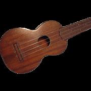 SALE 1934 Martin Soprano Ukulele Style 1 Mahogany Extra Fine