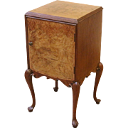 Antique English Pot Cabinet, Night Stand, Side Table.