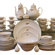 REDUCED Vintage Porcelain Dinner Service, Rosenthal, German, Medley Pattern.