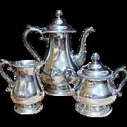 REDUCED Gorham Silver Plate Tea/Coffee Set.