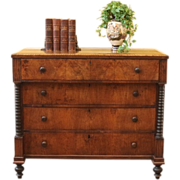 REDUCED Antique Federal Chest of Drawers, American C.1790.