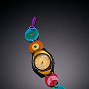 Anodized Aluminum Large Funky Watches