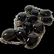 Sterling Silver Smokey Quartz Necklace