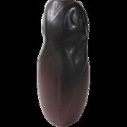 """Van Briggle Maroon Tulip Vase 6 1/4"""" Tall"""