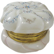 Wavecrest Vintage Hand Enameled Dressing Jar