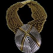 Jay Feinberg Runway Mixed Metal Necklace