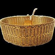 Sterling Silver Gold Wash Veronese Mesh Bracelet