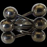 Sterling Silver Modernist Ring In Unique Design