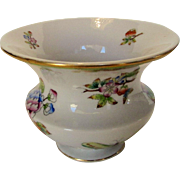 Herend Vase Victoria Butterflies and Flowers Pattern
