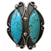 Sterling Turquoise Bangle