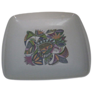 Vintage Rosenthal Abstract Design Fruit Platter