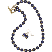 SALE I Love Lapis Lazuli, Do you? Necklace and Earrings Set