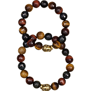 SALE His and Hers Tiger Eye Harmony Bracelets