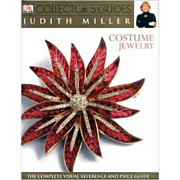 Costume Jewelry DK Collector's Reference and Price Guide Hardcover book by Judith Miller Near