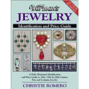 Warman's Jewelry 3rd Edition Paperback book identification and price guide by Christie Romero