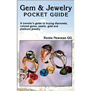 SOLD Gem and Jewelry Pocket Guide Travelers Guide to Buying Diamonds Colored Gems Pearls Gold