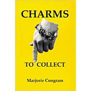 SOLD Charms to Collect Paperback reference book by Marjorie Congram NEAR MINT CONDITION