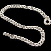 Vintage sterling silver charm bracelet 4.9 grams