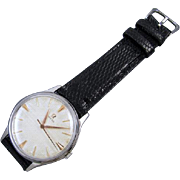 PROFESSIONALLY RESTORED and SERVICED Vintage 1961 Omega wrist watch stainless steel Grade 600