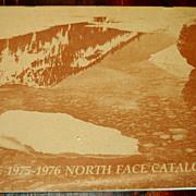 Ultra Rare 1975-1976 NORTH FACE Catalog