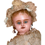 """SOLD AO Charming Wax Over 15"""" doll"""