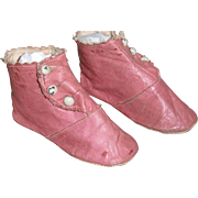 SOLD Authentic Pink Boots