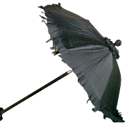 SALE Black Parasol for your Dolly