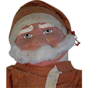 REDUCED Vintage Santa Claus Doll, c.1923
