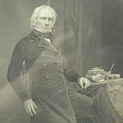 Senator Henry Clay of Kentucky, framed antique engraving
