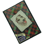 Fox Terrier Pinochle Nouvelle Playing Cards  MIB